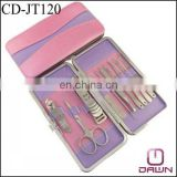 10pcs pink manicure set for women CD-JT120
