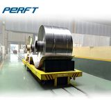 heavy duty steel coil transfer cart for steel plant on rails for steel coil and aluminium cargo transportation