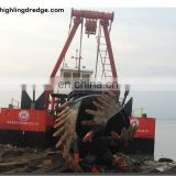 Spiral Head Hydraulic River Sand Cutter Suction Dredger
