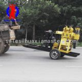 high quatity XYX-200 wheeled hydraulic water well drilling rig / trailer water well drilling machine