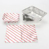 Inflight Pre Cut Red Stripe Aluminum Foil Sheets