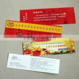 new arrive high-quality costom lottery ticket printing