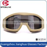 Hot sale TPU durable highly clarity of night vision goggles military shooting safety glasses for eye protective