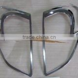 Chrome head lamp cover for Nissan Qashqai 2008