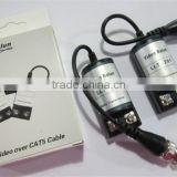 CCTV Camera Video Balun Transceiver BNC UTP RJ45 Video Balun Video and Power over CAT5/5E/6 Cable