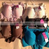 1.05USD New Products Updated Strip Style Ladies Big Cup Lovely Sexy Girls Bra And Panty, 5 Colours/38-42C Cups(kctz015)