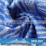 Alibaba China Wholesale Fashion Polyester Stretch Laminated with Jacquard Knitting Fabric