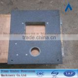 High Precision Machinery components Granite stone bases for tables