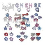 10mm Rhinestone Slide Charms for Pet Collar