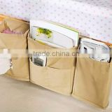 Non-woven useful bedside storage box