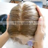 glue less silk top full lace wig