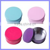 2.95 Inch Diameter Multi Purpose Novelty Package Holiday Gift Candy Tin Case