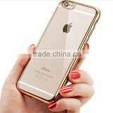 2016 New Electroplating TPU Case For Apple iphoen 6 plus/6s plus