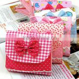 Sanitary napkin bag organizer bag cotton bag