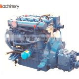 Marine diesel engine with gearbox 39hp N485J-3 electric starting for enclosed lifeboat in Thailand