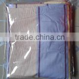 Best price clear hanging PVC plastic bag for packing bed sheet, zipper bedding packaging bag