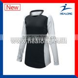 newest style custom made sublimation uniform for volleyball