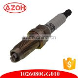 China Auto Parts Spark Plug for JAC 1026080GG010