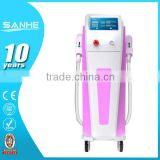 Salon Design Ipl Hair Removal Beauty Equipment/e-light Ipl Rf+nd Yag Laser Multifunction Machine 2.6MHZ
