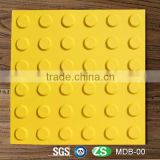300mm x 300mm Yellow Thermoplastic Polyurethane Tactile Tiles Ground Surface Indicator