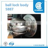 2015 hot sale 5887door lock / ball lock body / sliding door lock factory price with high quality