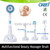 alibaba hot selling beauty equipment silicone face and body massage brush