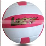 plain white volleyball / outdoor volleyball / pvc beach volley ball