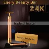 Gold beauty bar T type Firming Facial skin 24k gold beauty bar(J102)