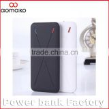 consumer electronic power bank thinnest power bank 8000mah rubber oil cover external battery charger buy from china online