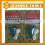 steel plumb bob construction measuring tool