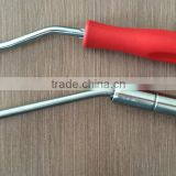 professional Stainless steel two joints bearing Galvanized or chromeplate rebar tool wire twister hand tool factory selling