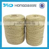2016 latest market price of natural hard jute hemp packaging rope 6mm