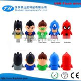 Stock Products Status and 64MB-256GB Capacity superhero usb flash drive                                                                         Quality Choice