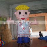 Human character inflated balloon,adverting VC giant balloon,Cartoon character PVC balloon from factory