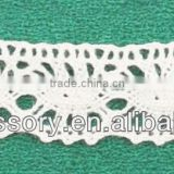 cotton edge lace,cotton eyelet embroidery lace fabric for dresses,bed cover cotton crochet lace
