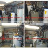 20kw R410a ETL certified double sounce heat pump project examples