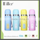 2015 hot sale cheap thermos glass refill vacuum flask
