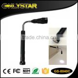Onlystar GS-8040C high quality 3 led telescopic zoomable aluminum magnetic pen light torch