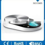 China supplier stainless steel large round platform home kitchen manual kitchen scale XY-8058
