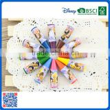 2016 new recyclable mini colorful crayon in sets for kids drawing