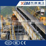 Nylon Conveyor Belt for ore beneficiation in mining fileds with two aisle and safe cover