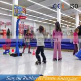 china produce high quality polyethylene synthetic ice rink for children