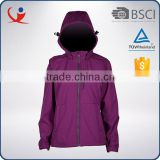 China supplier breathable waterproof 94% polyester softshell jacket woman                                                                         Quality Choice