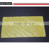 Tamper seals / self adhesive stickers VOID proof labels