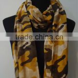 Fashion Camouflage Printed Blending Scarf