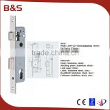 High security standard aluminum sliding mortise lock body for PVC door sliding door                                                                         Quality Choice