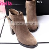 custom pointed ladies toe suede ankle boots
