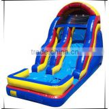 Attractive and high quality inflatable amusement park, kids and adults amusement park slide, water park slide