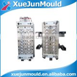 PET water bottle preform mould, oil bottle with valve gate system preform mould, injection molding plastic preform mould