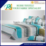 printed micro fiber bed sheet fabric